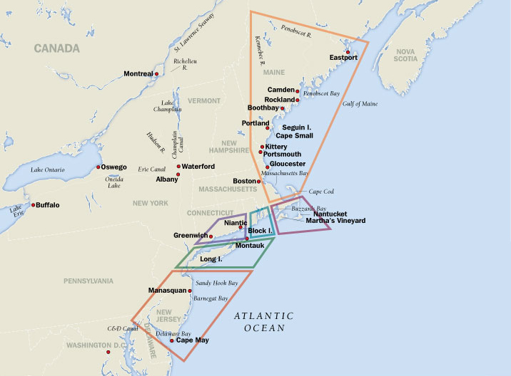 Map Of Cape Cod And Long Island