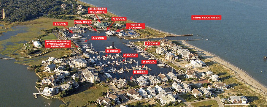 Bald Head Island Marina Nc Waterway Guide