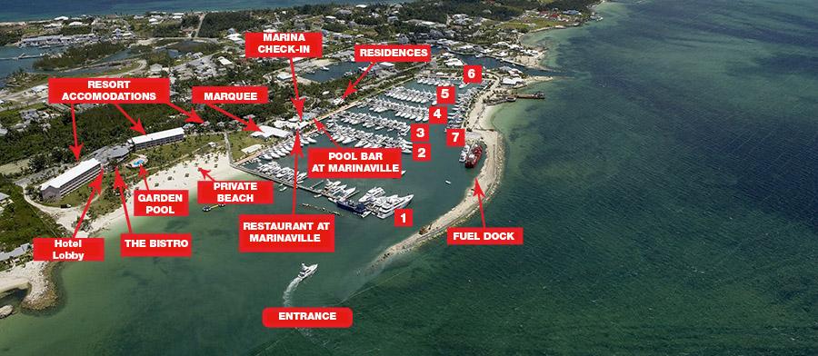 Abaco Beach Resort Map