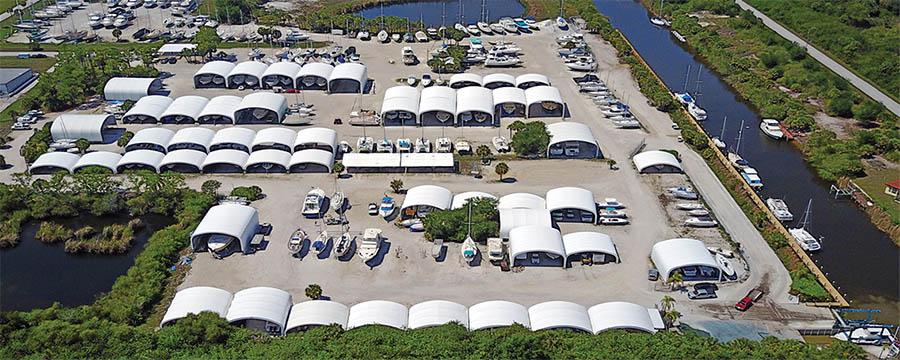 Safe Cove Boat Storage Port Charlotte Fl Waterway