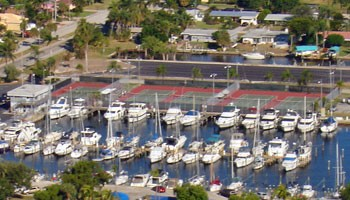 Cape Coral Yacht Basin Cape Coral Fl Waterway Guide Featured Marina Listing