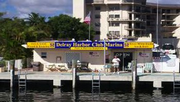 Nearby View of Delray Harbor Club Marina