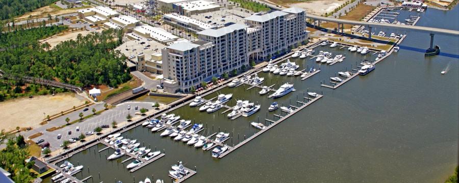 The Wharf Marina Orange Beach Alabama Al Waterway