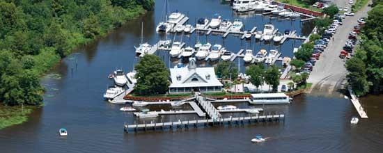 Wacca Wache Marina Murrells Inlet Sc Waterway Guide